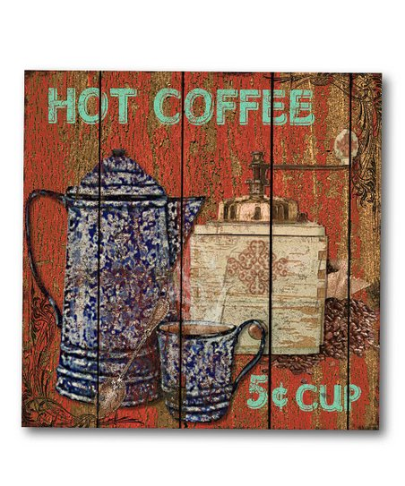 'Hot Coffee' Canvas Wall Art