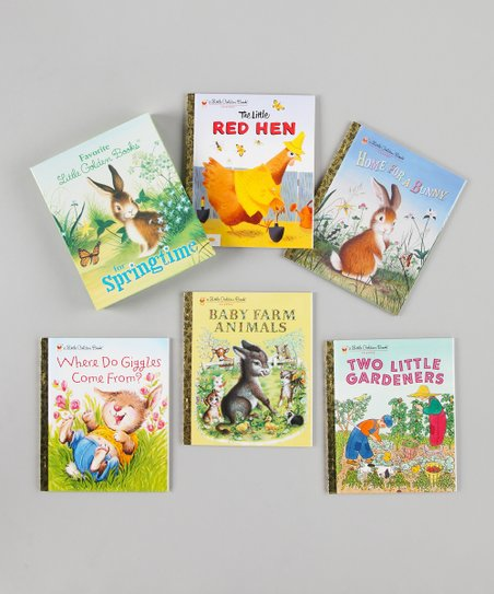 Favorite Little Golden Books for Springtime Hardcover Box Set