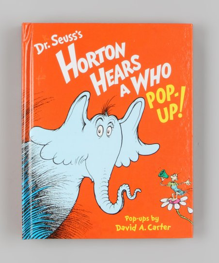 Horton Hears a Who! Pop-Up Hardcover