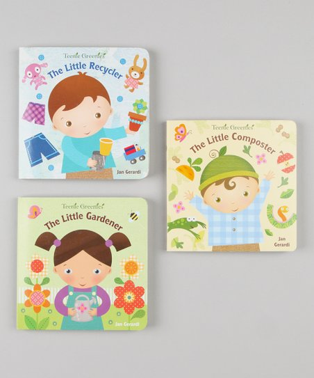 The Little Gardener Board Books