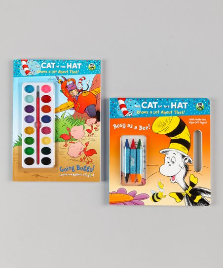 Cat in the Hat Bug Activity Set