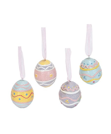 Pastel Egg Small Ornament Set
