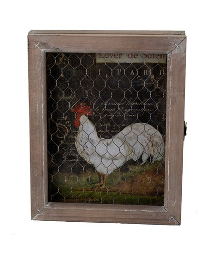 French Rooster Key Box