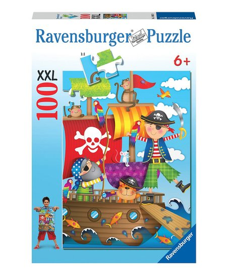 Pirate Adventure Puzzle