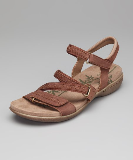 Brown Suede Cloverly Sandal