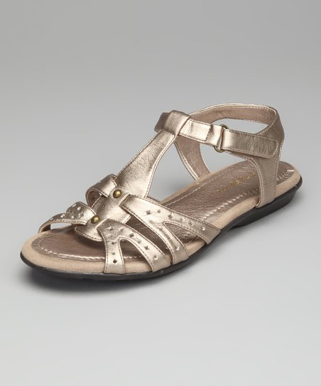 Gold Remember Sandal