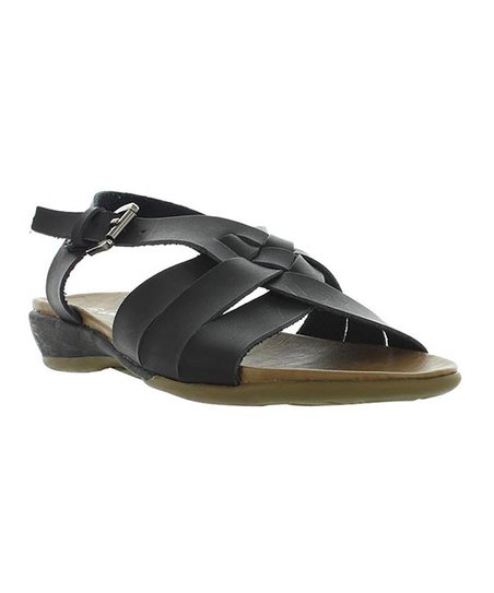 Black Braid Cary Sandal