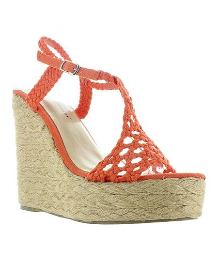 Orange Patty Espadrille