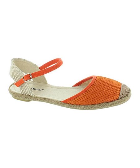 Orange Goldie Espadrille