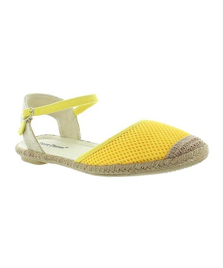 Yellow Goldie Espadrille