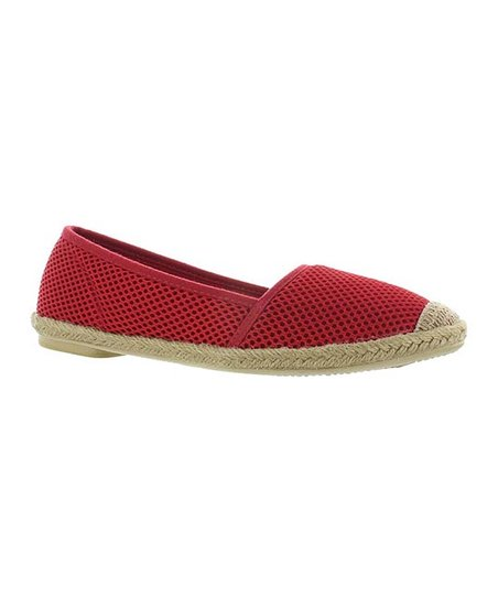 Red Goldie Espadrille Flat