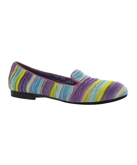 Purple Stripe Maggy Loafer
