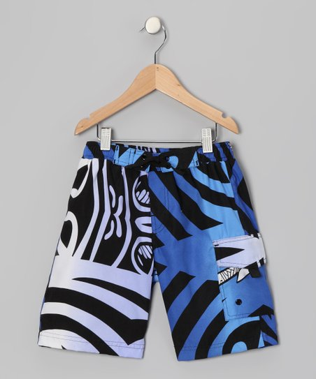Hawn Tribe Reef Swim Trunks - Boys