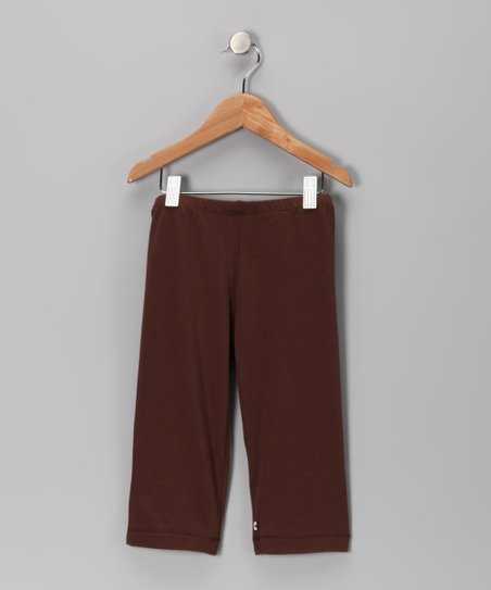 Brown Soy Leggings - Toddler
