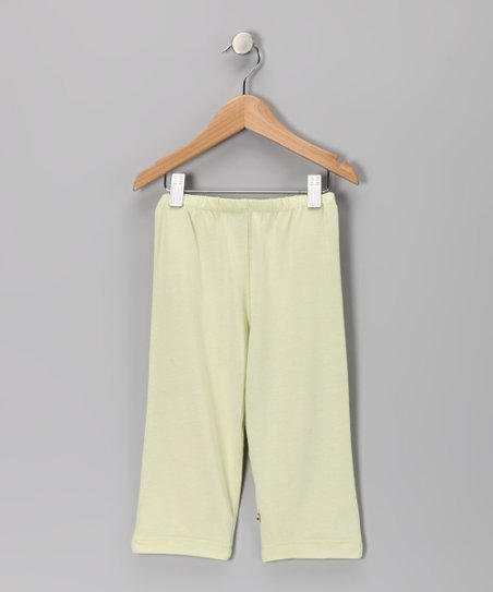 Yellow Soy Leggings - Toddler