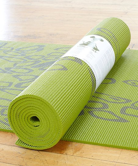 Olive &amp; Earth Path Yoga Mat