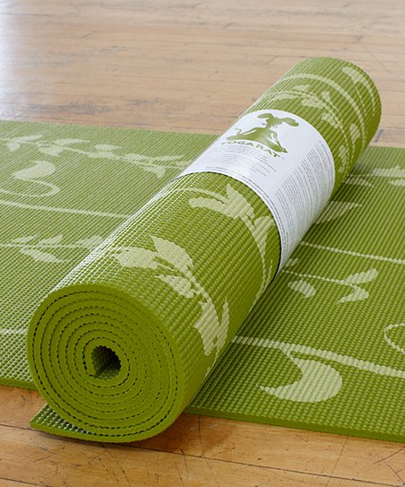 Olive & Light Ivy Yoga Mat