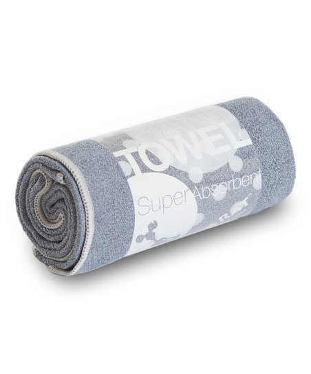 Charcoal & Ash Yoga Hand Towel