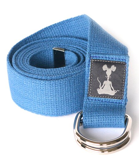 Blue Yoga Strap