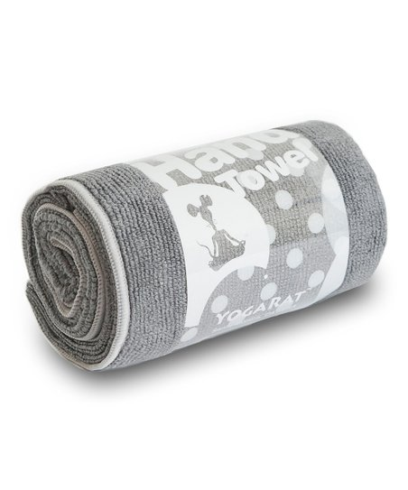 Charcoal & Ash Hot Yoga Hand Towel