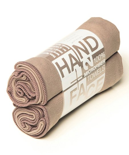 Smoke Hand/Face Towel - Set of Two
