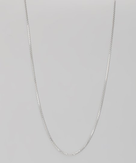 Sterling Silver 1-mm Diamond Cut Cable Chain