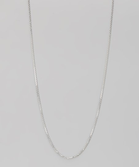 Sterling 1.2-mm Diamond Cut Cable Chain