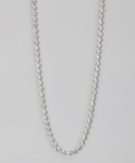Sterling 5-mm Moon Cut Chain