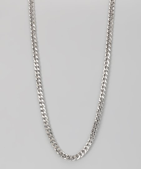 Sterling Silver 5-mm Cuban Chain