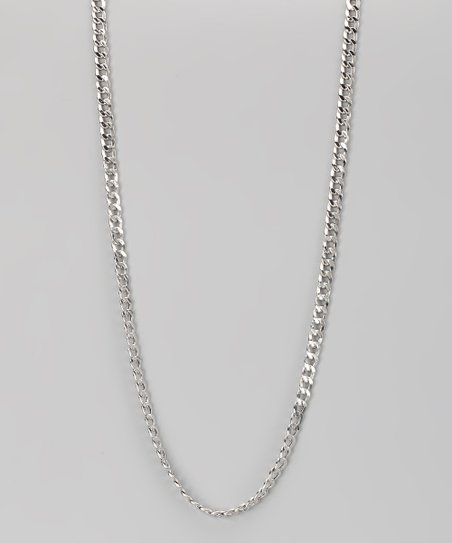 Sterling Silver 4-mm Cuban Chain