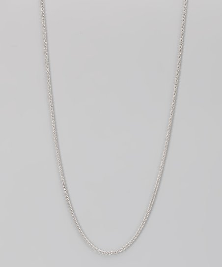 Sterling Silver 1.5-mm Round Ice Chain