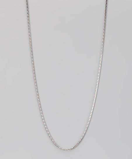 Sterling Silver 1.5-mm Round Pyramid Chain