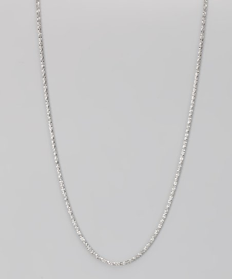Sterling Silver 1-mm Sparkle Chain