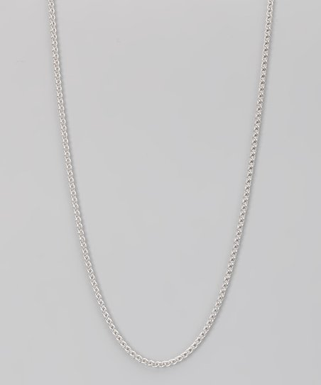 Sterling Silver 2.7-mm Round Wheat Chain