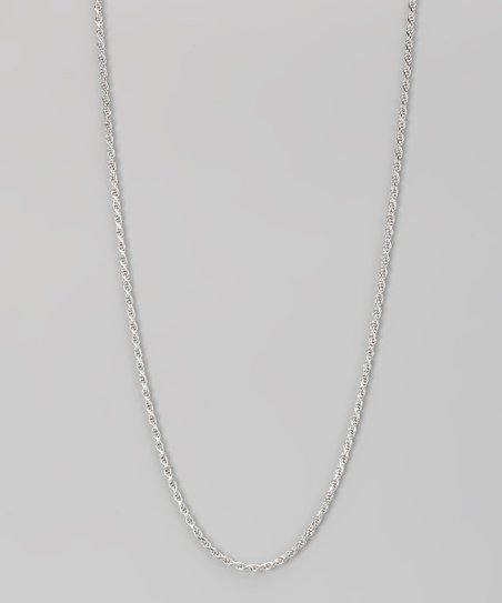 Sterling Silver 2-mm Diamond Cut Rope Chain