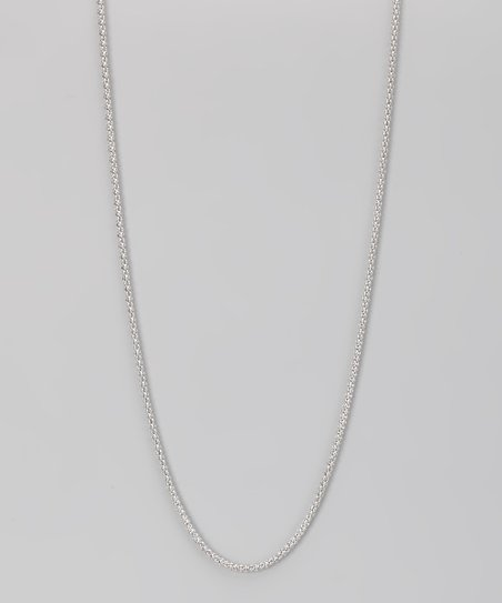 Sterling Silver 2-mm Loose Popcorn Chain