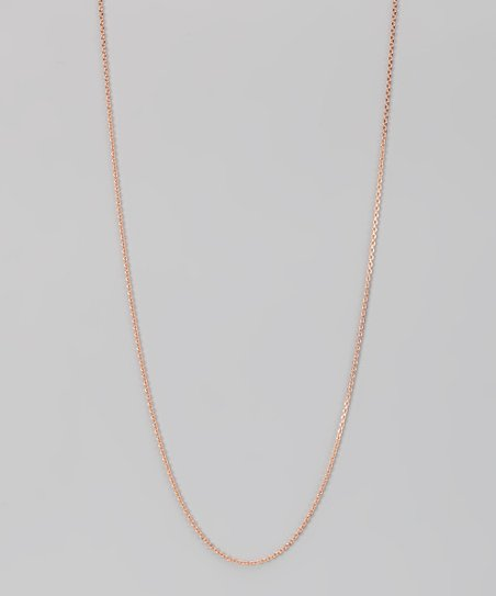 Rose Gold & Sterling Silver 1.2-mm Diamond Cut Cable Chain