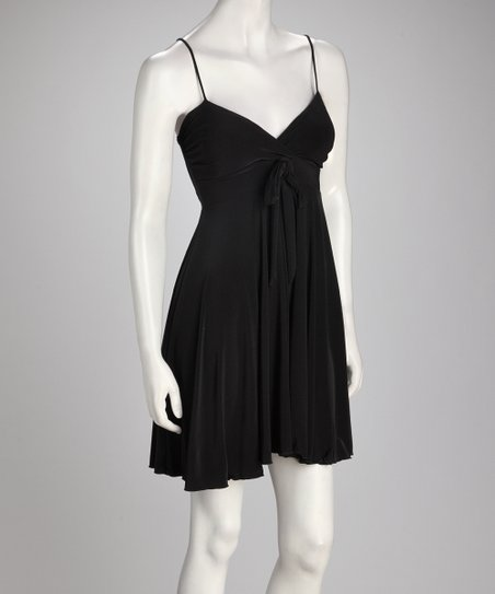 Black Sidetail Dress