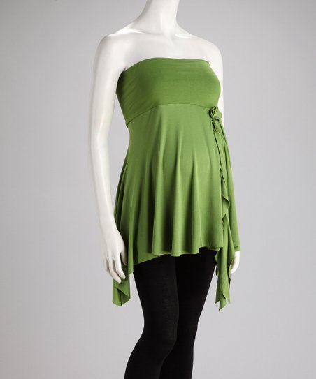 Lime Convertible Maternity Tunic