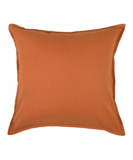 Orange Sleek Pillow Cover & Insert