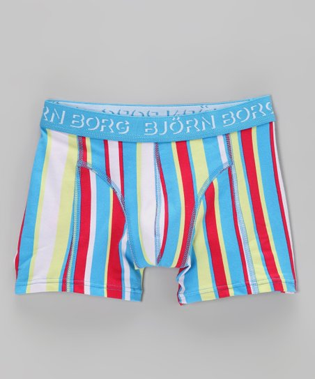 Björn Borg Blue Jet Stream Boxer Briefs - Toddler & Boys