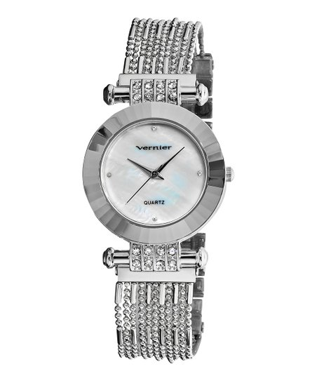 Silver Chain Bracelet Watch