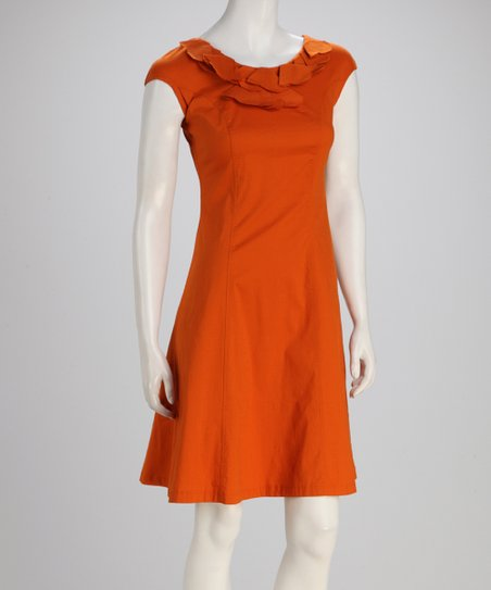 Orange Cider Dress