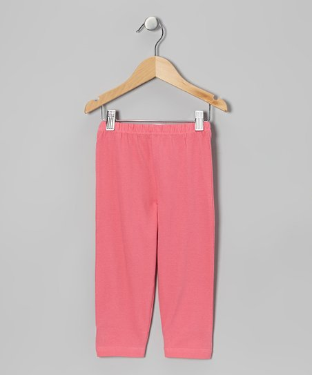 Pink Capri Leggings - Toddler & Girls