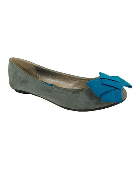 Gray Bow Savana Flat