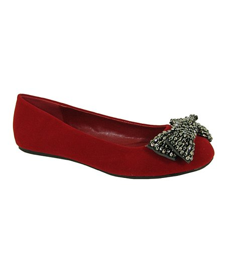 Red Velvet Serina Flat