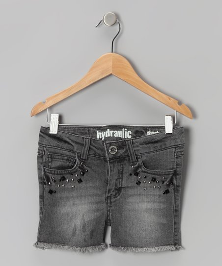 Berlin Gray Stone Shorts