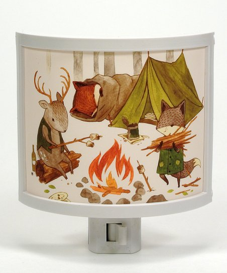 Camping Friends Night-Light