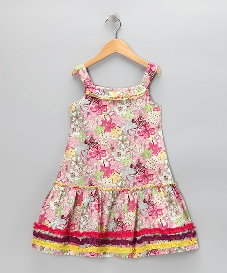 Light Pink Periwinkle Sundress - Toddler