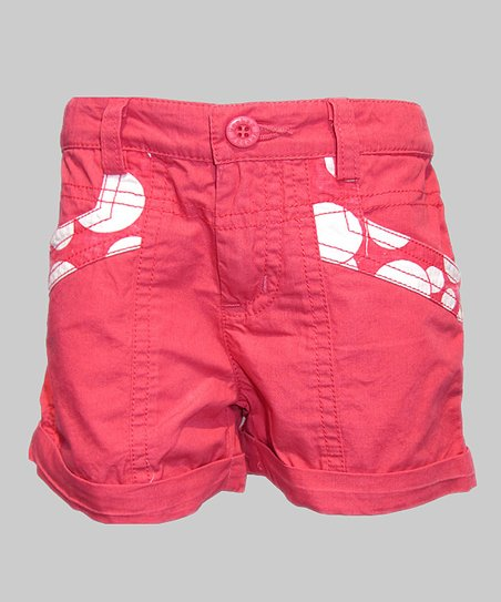Coral Shorts - Girls